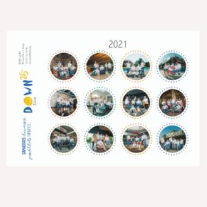 Calendario pared 2021 ((8€)8€)